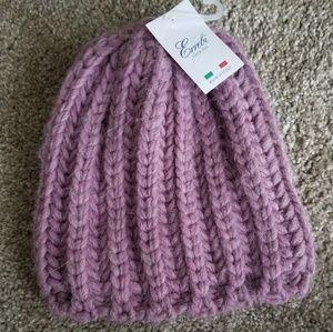 Purple Wool Beanie